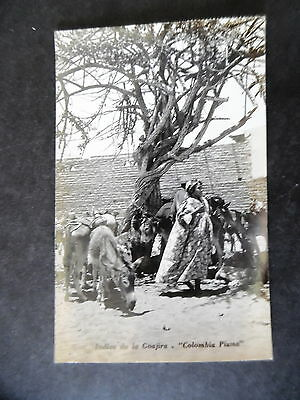 RP Colombia Native Indians Goajira Postcard Used to US