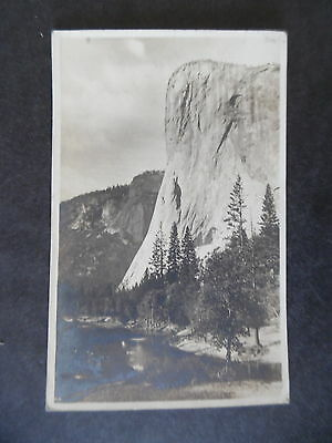 RP Yosemite National Park View Postcard ca1920 Camp Curry Cancel