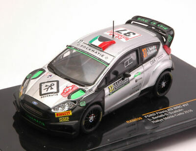 Ford Fiesta Rs Wrc #37 Accident Monte Carlo 2016 Bertelli / Scattolin 1:43 Model
