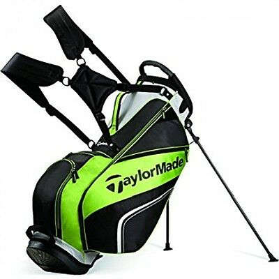 TaylorMade Pro Stand 4.0 Bag 2016 Model Black/Gray/Green