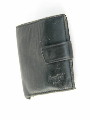 Coca Cola Light Black wallet sim card used with many compartments leather rare