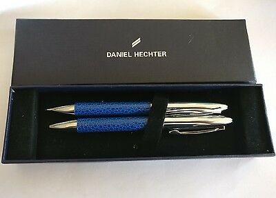 Vintage boxed Daniel Hechter ball point pen and pencil set