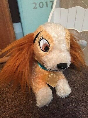 Lady (& The Tramp) Official, Exclusive Disney Store Plush, Soft Toy, Gift, Child