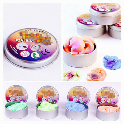 Thermochromic Colorful Intelligent Plasticine Hand Funny THINKING Putty Kid Gift