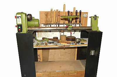 Woodwise woodworking lathe 5 speed with tools