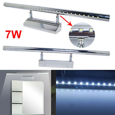 UK 7W White SMD 5050 LED Mirror Light Picture Wall Front Lighting Bathroom Lamp