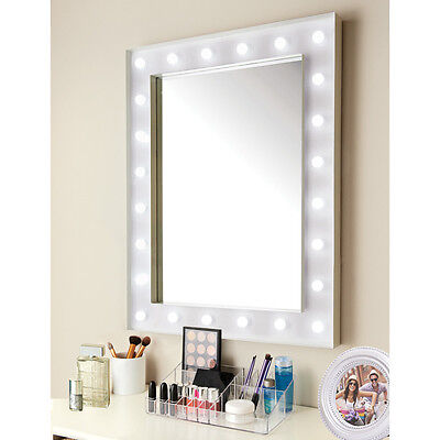 New Design Hollywood 24 LED Bulb Mirror Needs 3 x AA batteries (not included