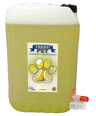 20L FRESH PET LEMON Kennel Disinfectant / Dog / Cat , Cleaner, Deodoriser