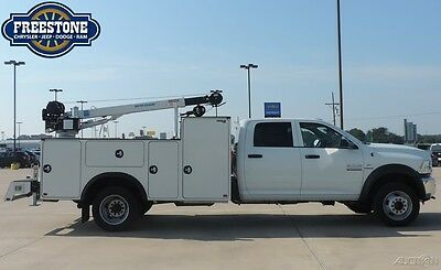 New Ram 5500 Automatic Diesel Cummins Chassis 4WD  Utility Work Service Crane