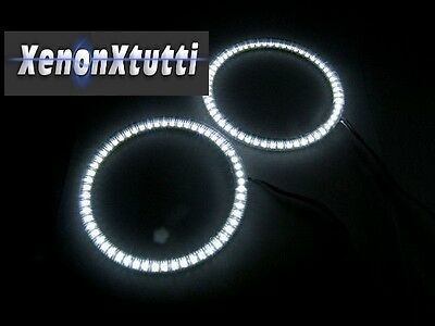 Coppia Angel Eyes Anello Led Diametro 140Mm Smd 3528 In Tubo 14 Cm