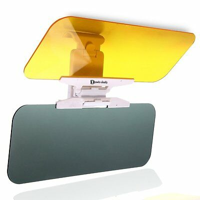Zento Deals Anti Glare Day Night Vision Shield Driving View Extender Sun Visor