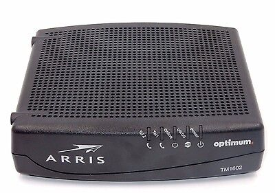 Arris Tm1602A Docsis 3 Fast High Speed Telephone Modem - Optimum / Cablevision