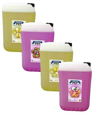 FRESH PET Multi-List Dog Disinfectant Cleaner (20L Container OR 1L eco-refill)