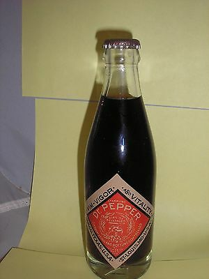 Vintage Dr  Pepper Commerative Soda Bottle, Waco, Texas