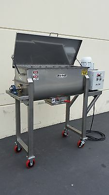 Ribbon Blender Stainless Steel 10 Cubic Foot (Nation Wide Shipping Available)