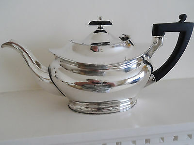 Vintage Heavy Quality Silver Plate Large Size Teapot 4 - 6 Cups ? - Cooper Bros