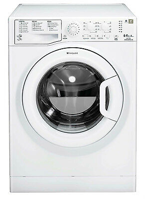 Hotpoint WDAL8640P Washer Dryer Large 8kg Load / 6kg wash/dry - AAA perf!
