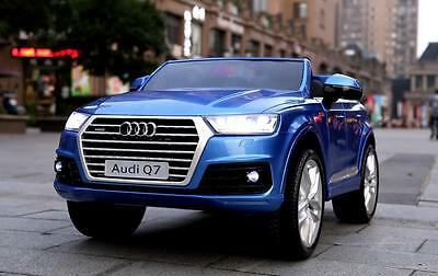 Audi Q7 Licensed Kids Battery Electric Ride on Jeep Car with Remote Control
