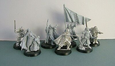 Warhammer Lord of the Rings Rohan Commanders - finecast