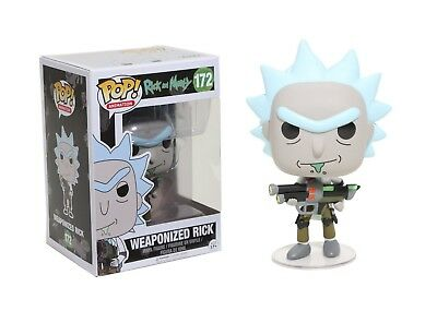 Funko Pop Animation Rick & Morty - Weaponized Rick Vinyl Action Figure Toy 12439