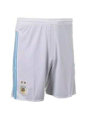 white 2015/2016 adidas climacool Argentina home football shorts S-XXL