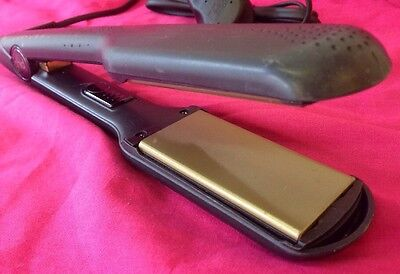 ghd ss5 wide thick plate hair straighteners 6 months warranty ghds