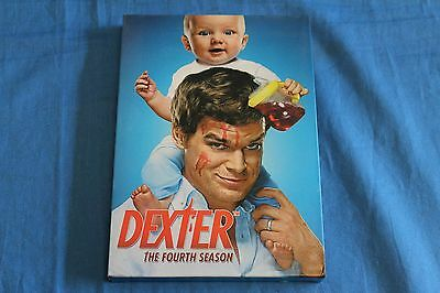 Dexter: The Fourth Season 4 (DVD, 2010, 4-Disc Set) *free shipping