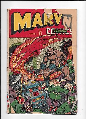 Marvel Mystery Comics #62 ==> Fa Timely Human Torch 1945