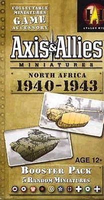 Axis & Allies CMG North Africa 1940-1943 Booster Pack - Brand New!