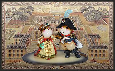 Wee Forest Folk M-529 Napoleon and Josephine