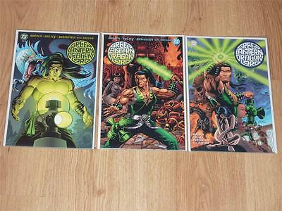 Green Lantern: Dragon Lord #1 to 3 Complete Set - DC 2001 - NM- to NM