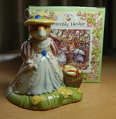 Lady Woodmouse/basket. Dbh 32.orig Box. Perfect.