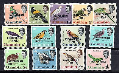 Gambia 1965 Independence mint LHM set SG215-217 WS4708