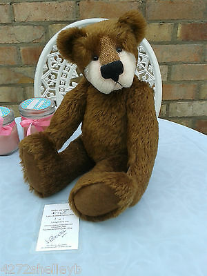 OOAK BEAR KYLE by JOAN REEDER LIONHART BEARS