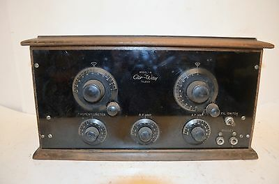 SCARCE EARLY 1920's AIRWAY MODEL 41 RADIO RECEIVER