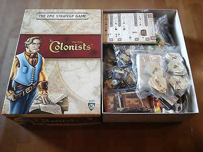 The Colonists - Gioco da Tavolo - ed. Mayfair