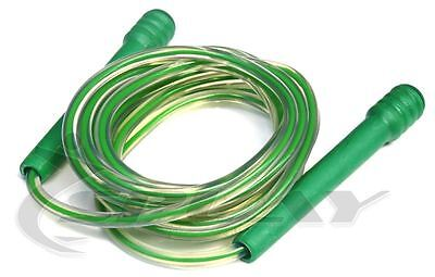 Pocket Rope -Green Fitness Speed Skipping Boxing Jump Gym Exercise Plastic Nylon
