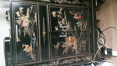 antique chinese drink cabinet