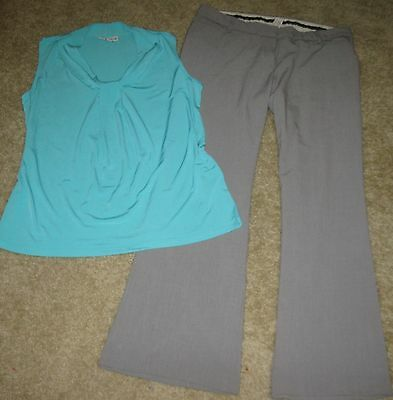 23p Women's spring Clothing Lot 12/Large Career/Casual Pant/Shirts/Skirts