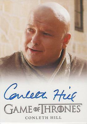 "Game of Thrones Season 1 - Conleth Hill ""Lord Varys"" Autograph Card"