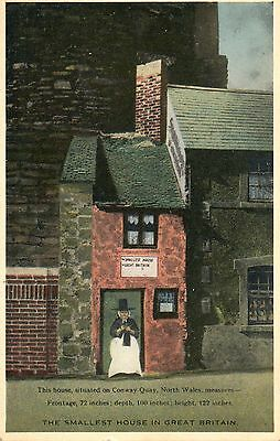 The Smallest House in Great Britain.