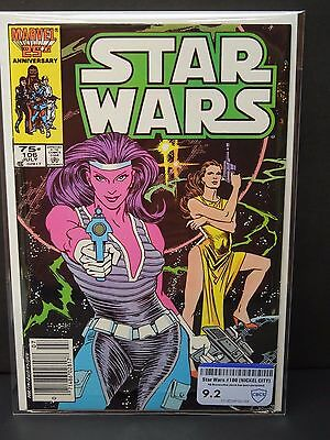Marvel Comics Star Wars #106 1986 - Cbcs Raw Grade 9.2
