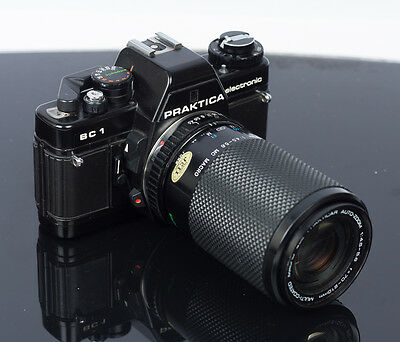 Praktica  Bc 1 Slr Camera With  Praktica 70 - 210 Mm Zoom Lens