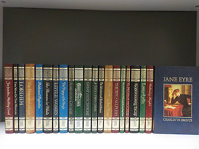 Marshall Cavendish - The Great Writers Library - 21 Books Collection! (ID:42182)