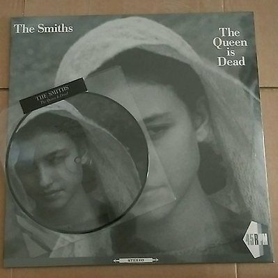 """THE SMITHS The Queen Is Dead 12"""" and 7"""" Picture Disc NEW SEALED RARE"""