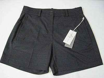 "Maggie Lane Golf, Womens 5"" Ace Shorts, Size 14, Black MLS6302-02, New with Tags"