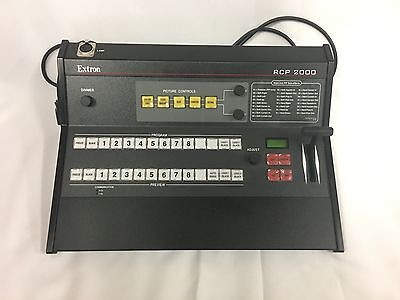 EXTRON RCP 2000 Remote Control Panel