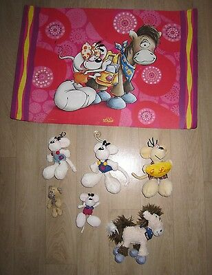 Lot DIDDL : Peluches  + sous main