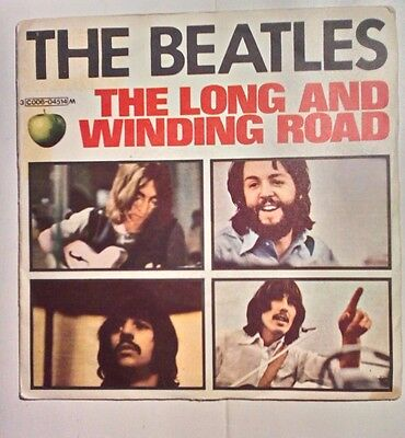The Beatles: The long and winding road/ Four you blue.Ed originale Italiana 1970