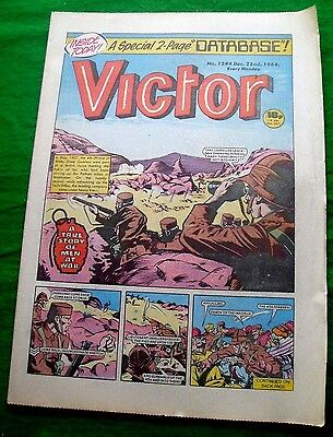 Prince Of Wales Own Gurkhas At Waziristan  Ww2 Cover Story Victor Comic 1984